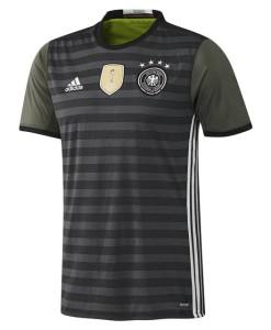 adidas ドイツ 2016アウェイユニフォーム Kids Black