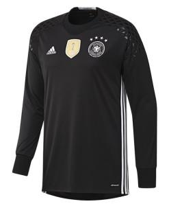adidas ドイツ 2016ホーム GKユニフォーム Kids Black
