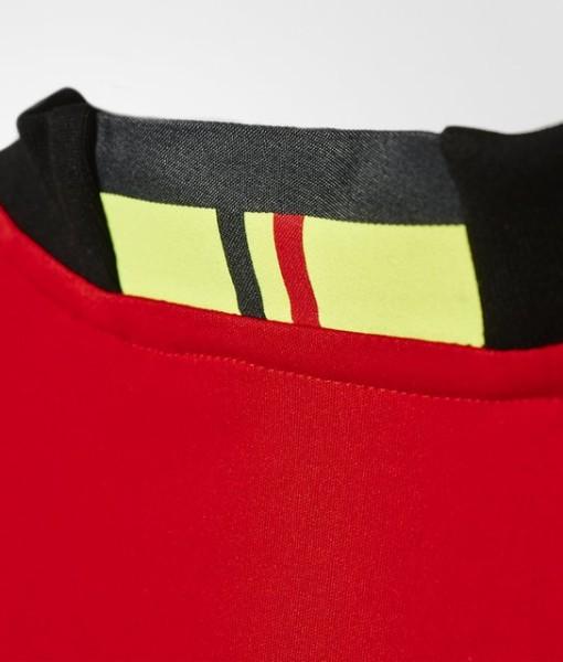 adidas ベルギー 2016ホーム ユニフォーム Kids Red