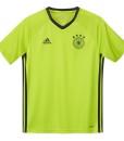 adidas ドイツ 2016 トレーニングジャージシャツ Kids Green