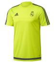 adidas レアルマドリード 2016 トレーニングシャツ Yellow