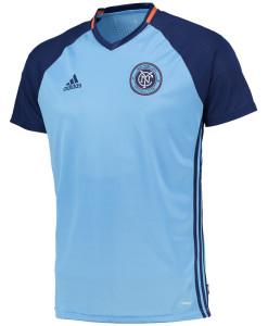 adidas ニューヨークシティ 16 トレーニング シャツ Blue