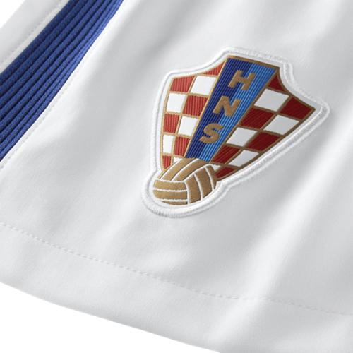 NIKE クロアチア 2016Home ユニフォーム ショーツ White