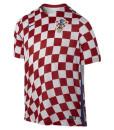 NIKE クロアチア 2016Home ユニフォーム シャツ Red