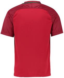 NIKE ポルトガル 2016Home ユニフォーム シャツ Red