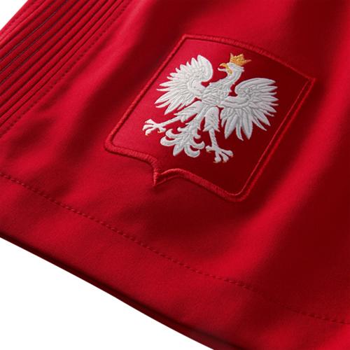 NIKE ポーランド 2016Home ユニフォーム ショーツ Red