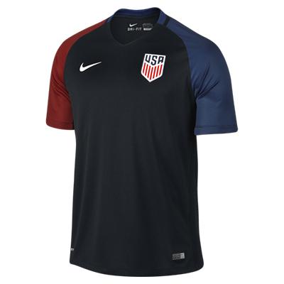NIKE アメリカ 2016Away ユニフォーム シャツ Black 1