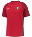 NIKE ポルトガル Kids 2016Home ユニフォーム シャツ Red