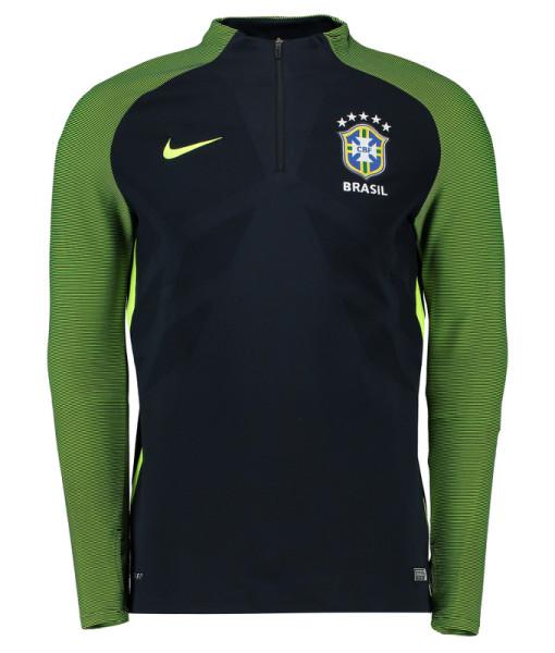 NIKE ブラジル オーセンティックドリル トップ Green