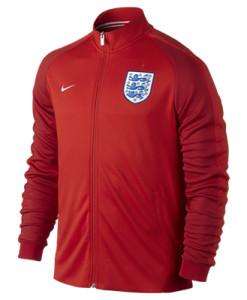 NIKE イングランド オーセンティックN98 ジャケット Red