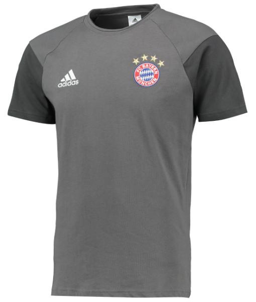adidas バイエルン ミュンヘン 16/17 トレーニング Tシャツ Grey 1