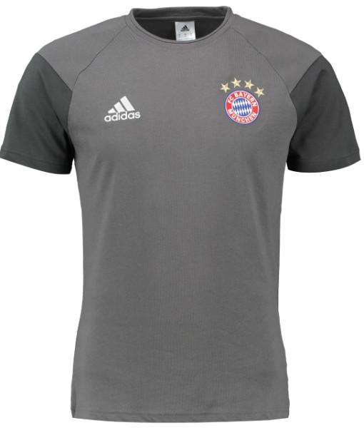 adidas バイエルン ミュンヘン 16/17 トレーニング Tシャツ Grey