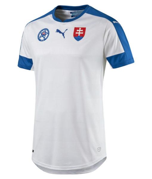 PUMA スロバキア 2016Home ユニフォーム シャツ White 1