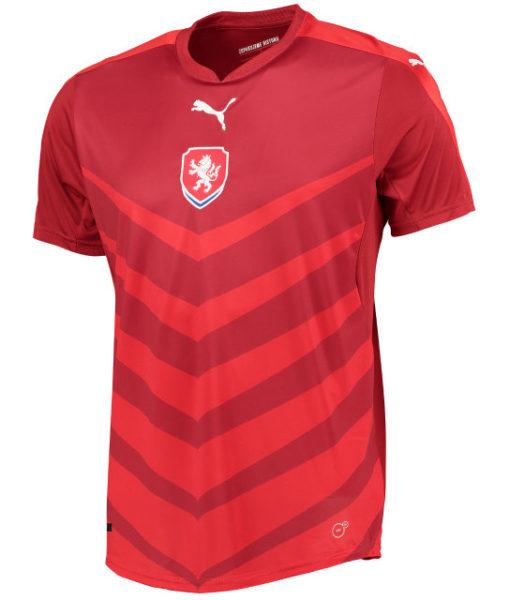 PUMA チェコ 2016Home ユニフォーム シャツ Red 1