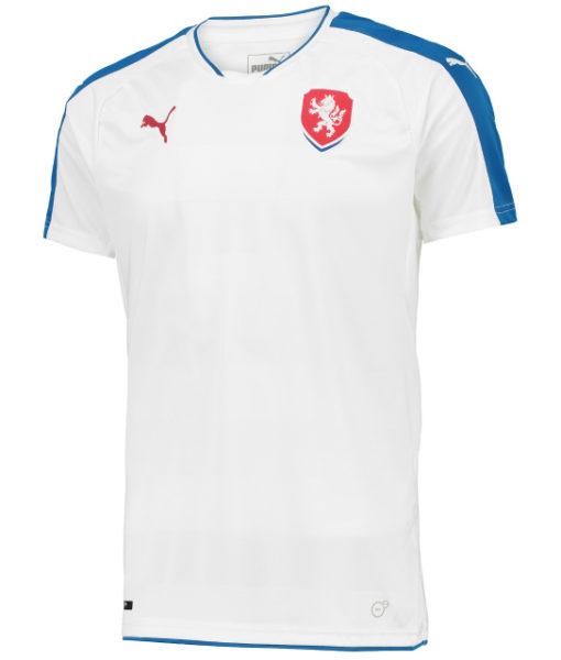 PUMA チェコ 2016Away ユニフォーム シャツ White 1