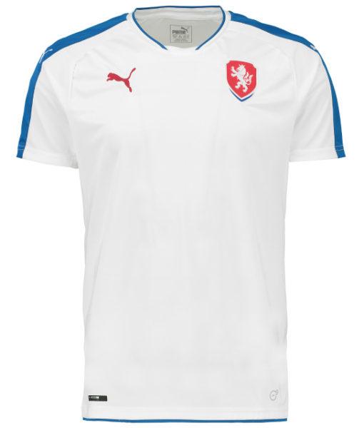 PUMA チェコ 2016Away ユニフォーム シャツ White