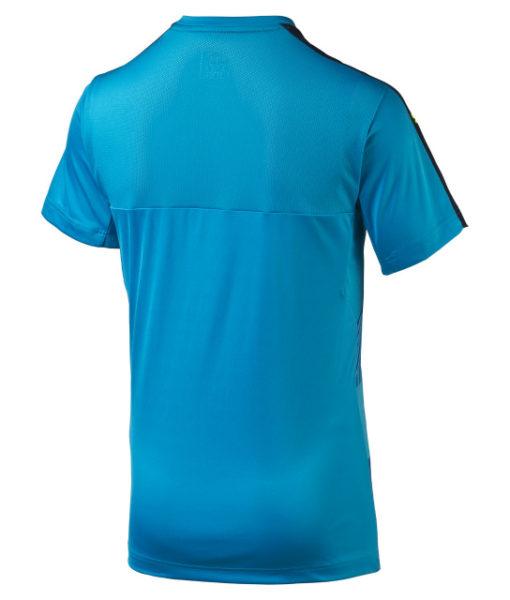 PUMA イタリア 2016 トレーニングジャージ シャツ Blue