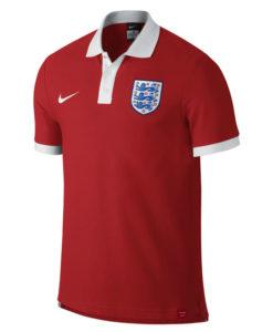 NIKE イングランド コア マッチアップ ポロシャツ Red