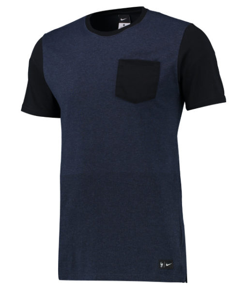 NIKE フランス AUTH サイドライン Tシャツ Navy 1
