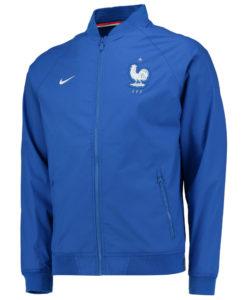 NIKE フランス オーセンティックバーシティ ジャケット Blue