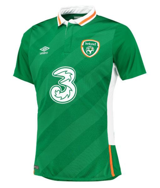 Umbro アイルランド 2016Home ユニフォーム シャツ Green 1