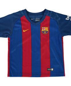 NIKE FCバルセロナ Kids 16/17 Home ユニフォーム シャツ Blue