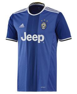 adidas ユベントス 16/17 Awayユニフォーム シャツ Blue