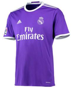 adidas レアルマドリード 16/17 Awayユニフォーム シャツ Purple