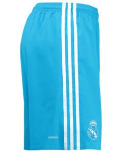 adidas レアルマドリード 16/17 Home GKユニフォーム ショーツ Blue