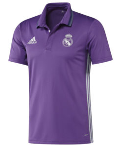 adidas レアルマドリード 16/17 トレーニング ポロシャツ Purple