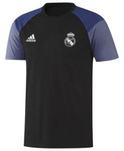 adidas レアルマドリード 16/17 トレーニング Tシャツ Black