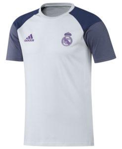 adidas レアルマドリード 16/17 トレーニング Tシャツ White
