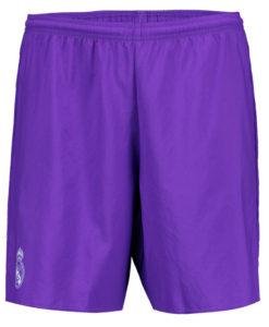 adidas レアルマドリード 16/17 Awayユニフォーム ショーツ Purple