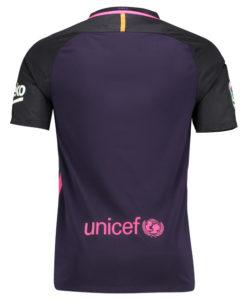 NIKE FCバルセロナ 16/17 Awayユニフォーム シャツ Purple