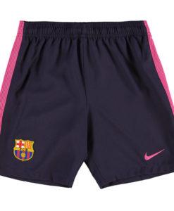 NIKE FCバルセロナ Kids 16/17 Awayユニフォーム ショーツ Purple