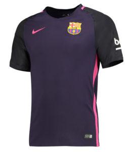 NIKE FCバルセロナ Kids 16/17 Awayユニフォーム シャツ Purple