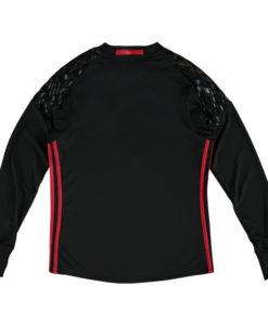 adidas マンチェスターユナイテッド Kids 16/17 Home GKユニフォーム 長袖 シャツ Black