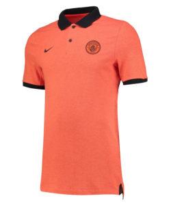 NIKE マンチェスターシティ 16/17 Auth グランドスラム ポロシャツ Orange