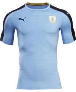 PUMA ウルグアイ 2016Home ユニフォーム シャツ Blue