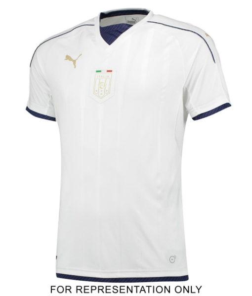 PUMA イタリア 2016 Awayオーセンティック シャツ White 1