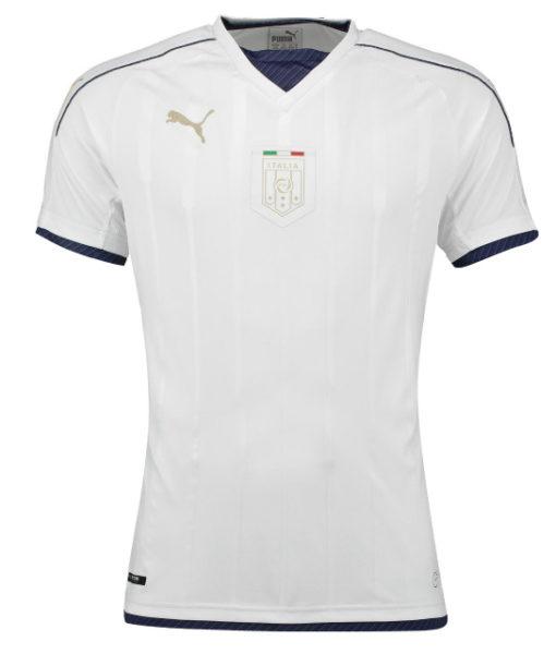 PUMA イタリア 2016 Awayオーセンティック シャツ White