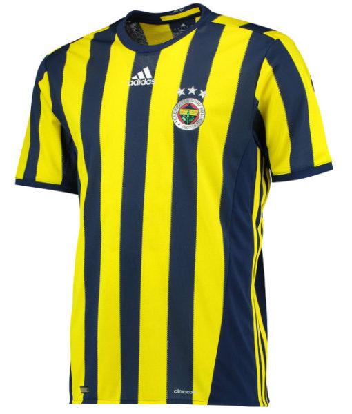 adidas フェネルバフチェ 16/17 Home ユニフォーム シャツ Yellow 1