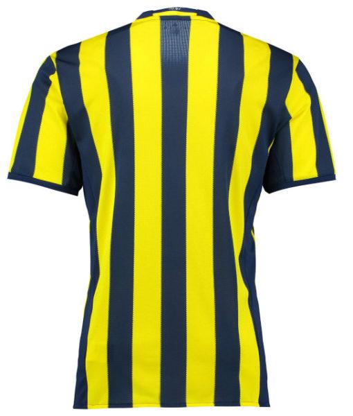 adidas フェネルバフチェ 16/17 Home ユニフォーム シャツ Yellow