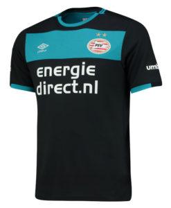 PSVアイントホーフェン 16/17 Awayユニフォーム シャツ Black