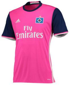 adidas ハンブルガーSV 16/17 Awayユニフォーム シャツ Pink