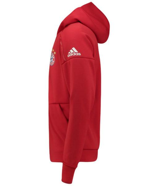 adidas バイエルン ミュンヘン 16/17 Z.N.E. アンセム ジャケット Red