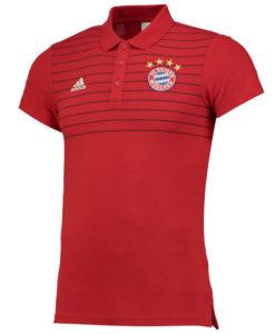 adidas バイエルン ミュンヘン 16/17 カジュアル ポロシャツ Red