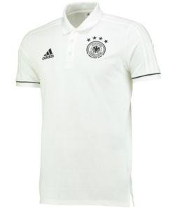adidas ドイツ 2017 トレーニング ポロシャツ White