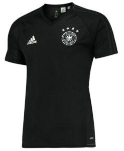 adidas ドイツ 2017 トレーニング シャツ Black