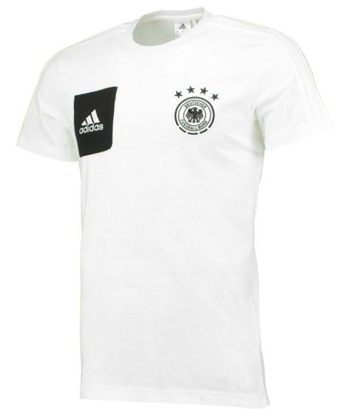 adidas ドイツ 2017 トレーニング Tシャツ White 1